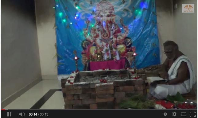 Sri Lakshmi Ganapathy homam