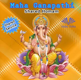 Maha Ganapathy homam