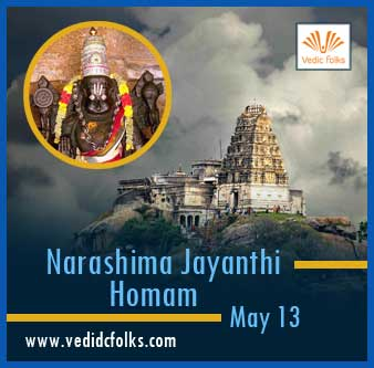 Narasimha Jayanthi Homam - Shared Services