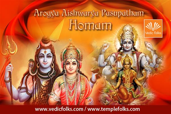 Arogya Aishwarya Pasupatham Homam - vedicfolks