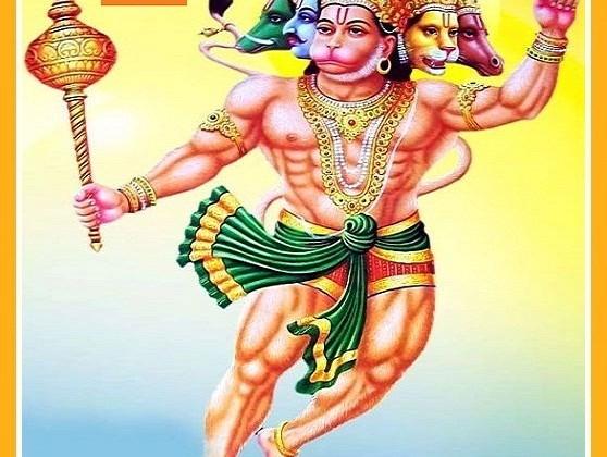 Pancha Mukha Hanuman Mantra - Vedicfolks