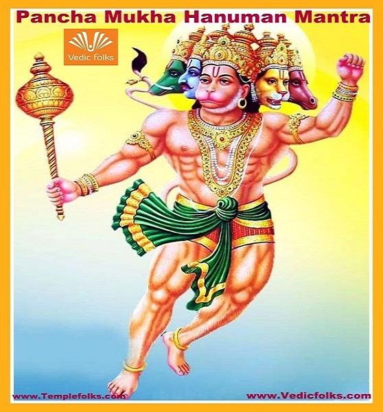 Pancha Mukha Hanuman Mantra - Vedicfolks com