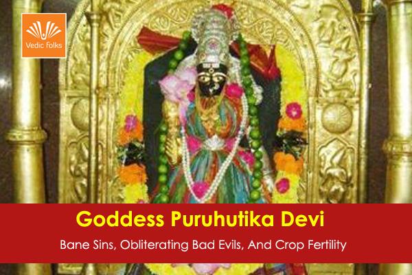 Goddess Puruhutika Devi